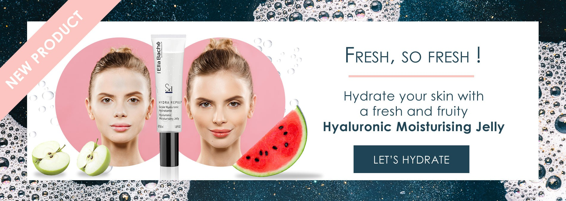 New product : discover our Hyaluronic Moisturising Jelly